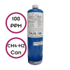 100 ppm Methane (CH4) & Hydrogen (H2) - Can Only