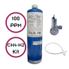 100 ppm Methane (CH4) & Hydrogen (H2) - Calibration Kit