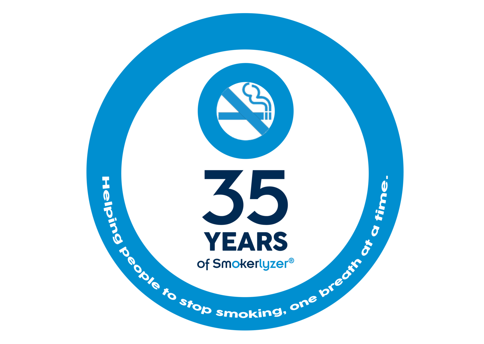 30 years of smokerlyzer logo ready for printing 1