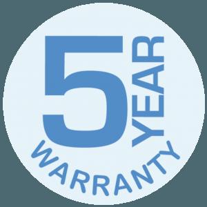 5 Year Warranty NC