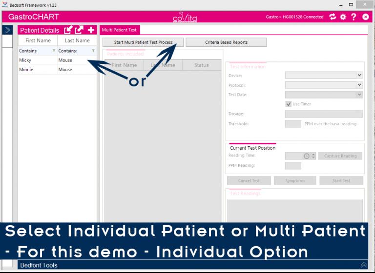 8 Select Patient
